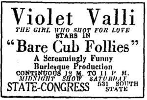 Violet Valli ad