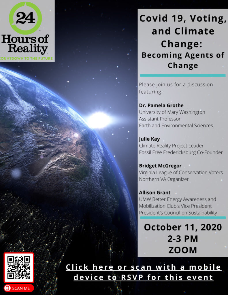 COVID-19, Voting and Climate Change: Becoming Agents of Change