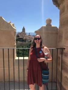 Mary Washington alumna Cara Wissinger '19 is among several UMW graduates who moved to Madrid to teach after studying abroad in Spain while in college.