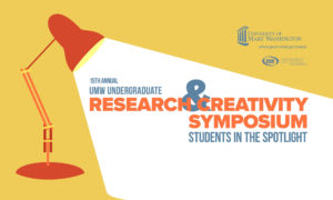 Tomorrow, University of Mary Washington students will showcase the research they've toiled away on for the past year as part of the 15th annual Research and Creativity Symposium. The event will be held virtually and will be accessible through Friday.