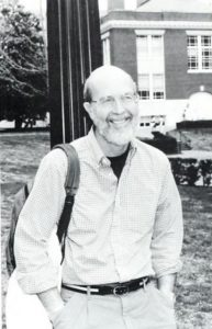 Distinguished Professor Emeritus of English Donald E. Glover taught at UMW for 37 years.
